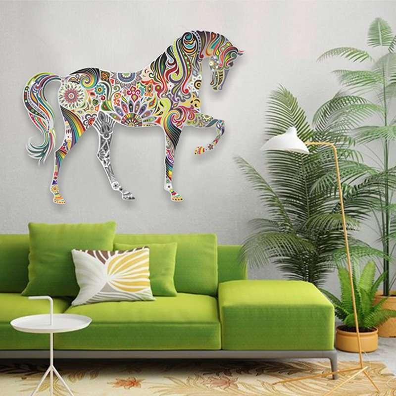 Steel wall art