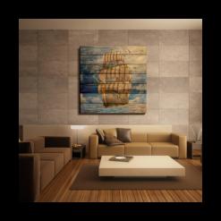 shaakh wooden wall art