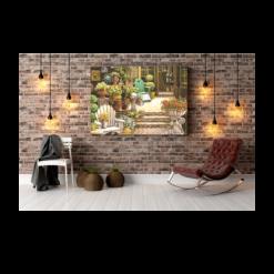shaakh canvas print wall art