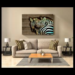 shaakh metal wood wall art