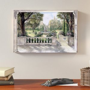wrap around canvas wall art