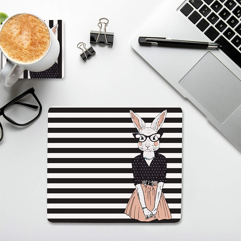 work desk essentials,mouse pad and coasters set