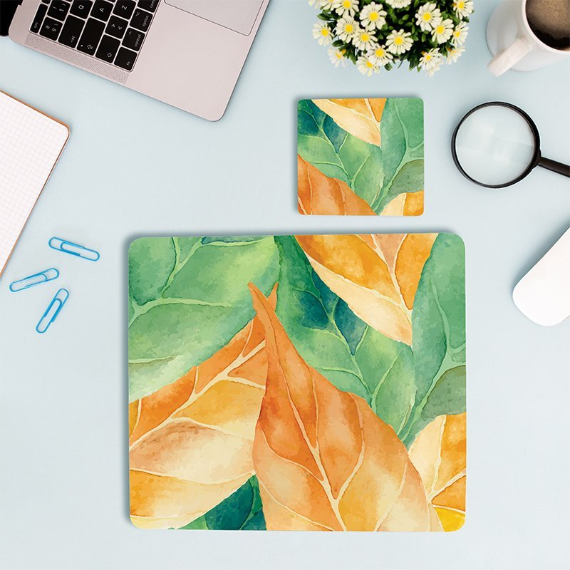 mouse pad And coasters, Work space essentials